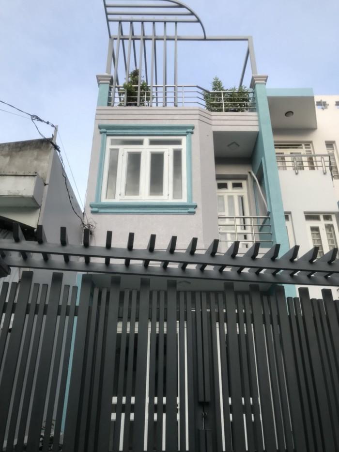 Nhà hẻm giá rẻ đường Gò Dầu , DT 4m x 17,2m