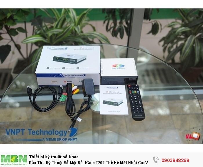 Đầu thu kỹ thuật số DVB-T2 iGate T202 chính hãng do VNPT phân phối