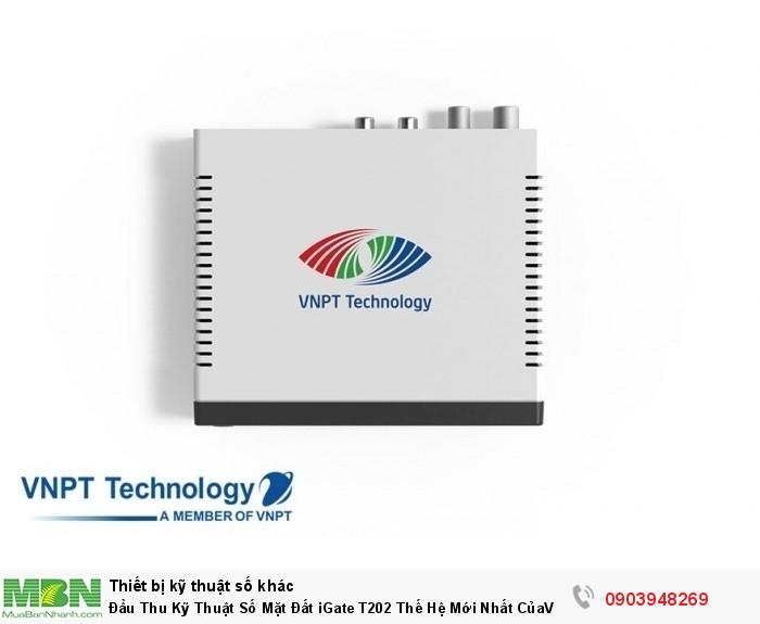 Đầu thu kỹ thuật số DVB T2 VNPT iGate T202 HD xem hơn 60 kênh truyền hình hoàn toàn miễn phí.