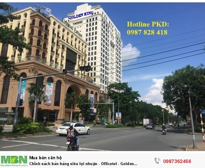 Chính sách bán hàng siêu lợi nhuận - Officetel - Golden King