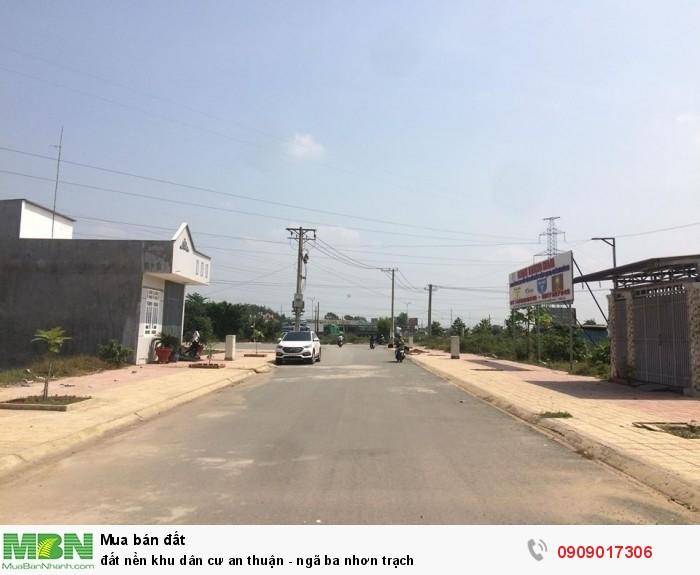 Đất Nền Khu Dân Cư An Thuận - Ngã Ba Nhơn Trạch