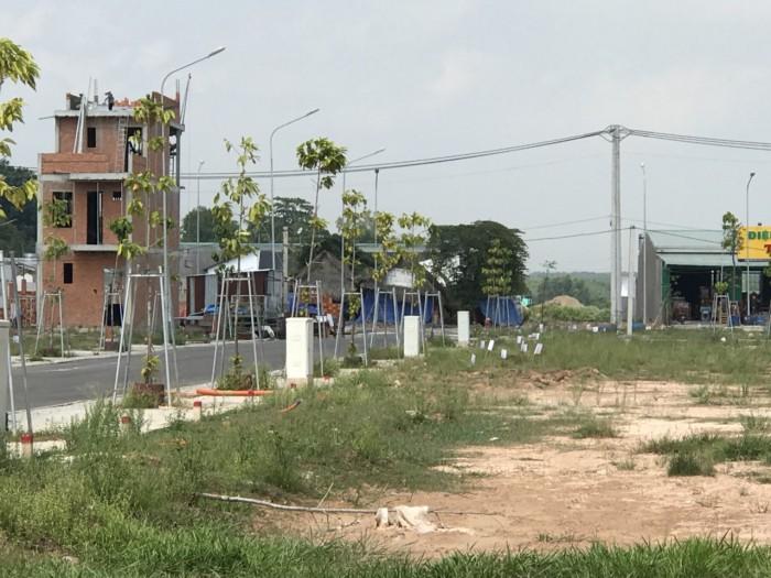 Cần tiền KD bán gấp đất Xã Đại Phước gần phà Cát Lái giá rẻ, SHR chính chủ
