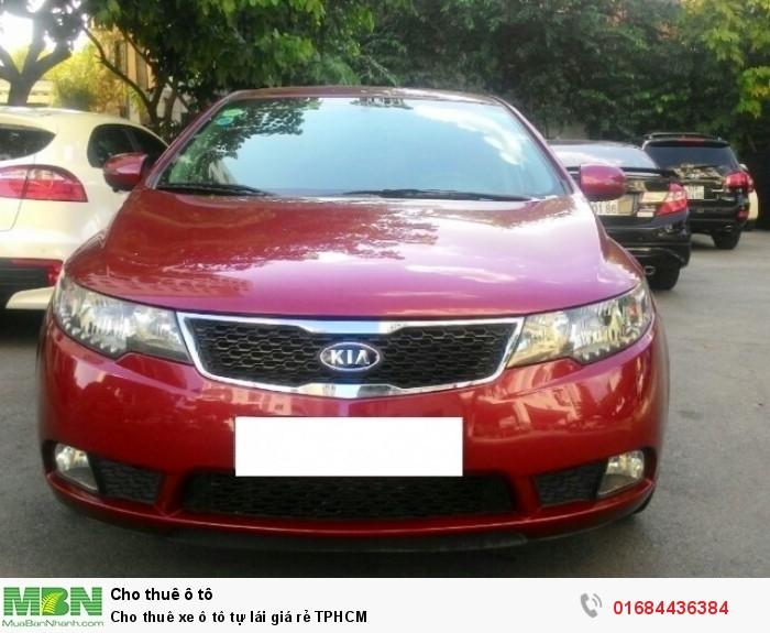 Cho thuê xe ô tô tự lái giá rẻ TPHCM