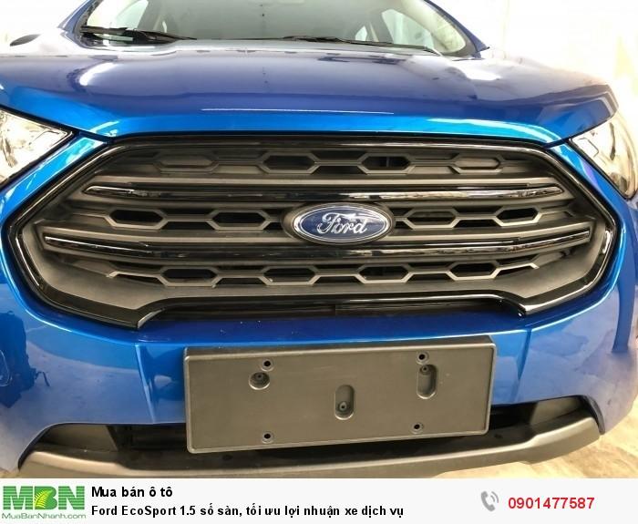 Ford EcoSport 1.5 số sàn, tối ưu lợi nhuận xe dịch vụ 2