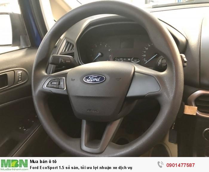 Ford EcoSport 1.5 số sàn, tối ưu lợi nhuận xe dịch vụ 3