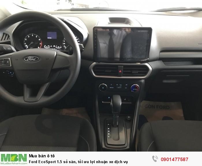 Ford EcoSport 1.5 số sàn, tối ưu lợi nhuận xe dịch vụ 4
