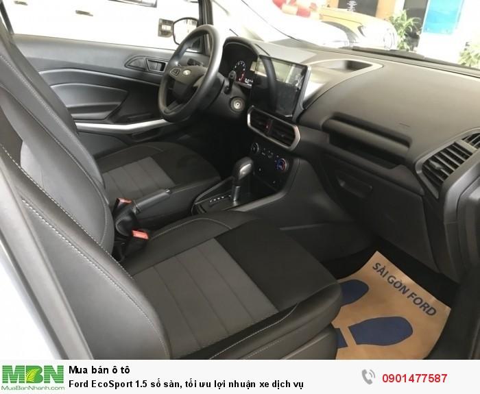 Ford EcoSport 1.5 số sàn, tối ưu lợi nhuận xe dịch vụ 5