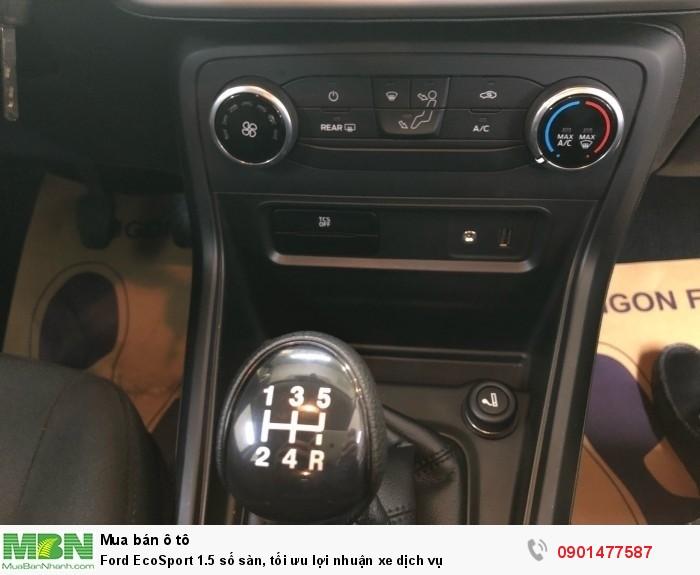 Ford EcoSport 1.5 số sàn, tối ưu lợi nhuận xe dịch vụ 6