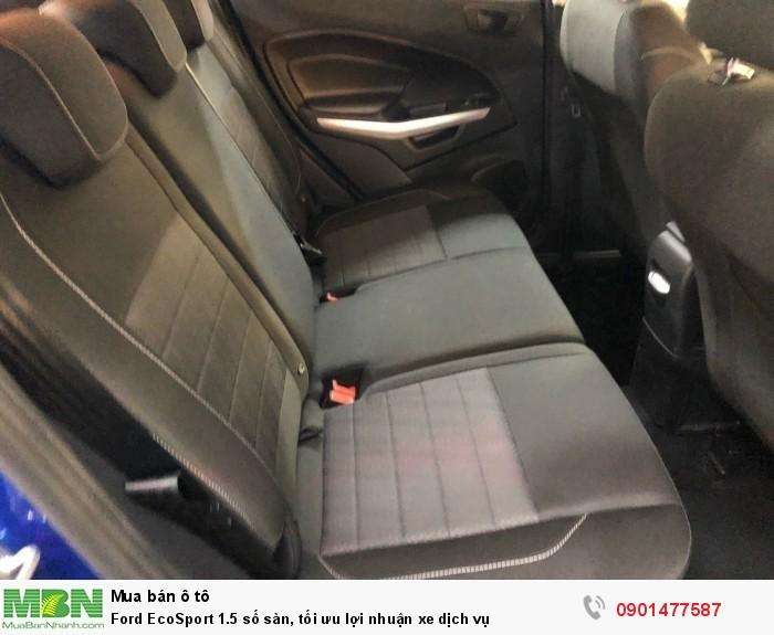 Ford EcoSport 1.5 số sàn, tối ưu lợi nhuận xe dịch vụ 8