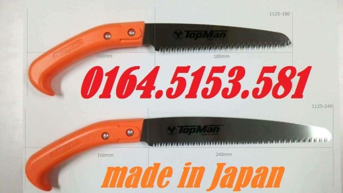 Cưa cắt cành cầm tay Topman từ Nhật Bản5