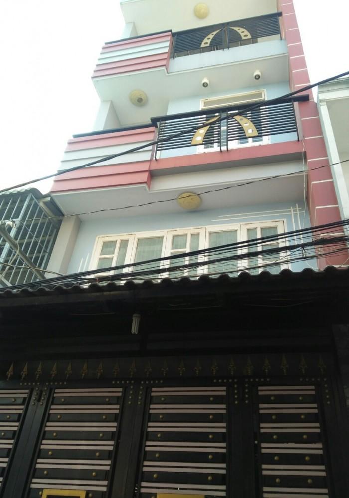 Bán nhà hẻm Bình Long, Q .Tân Phú