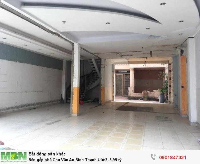 Bán gấp nhà Chu Văn An Bình Thạnh 41m2