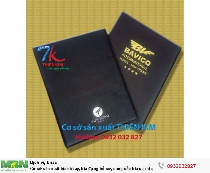 Cơ sở sản xuất bìa sổ tay, bìa đựng hồ sơ, cung cấp bìa sơ mi da, bìa còng giá rẻ,0