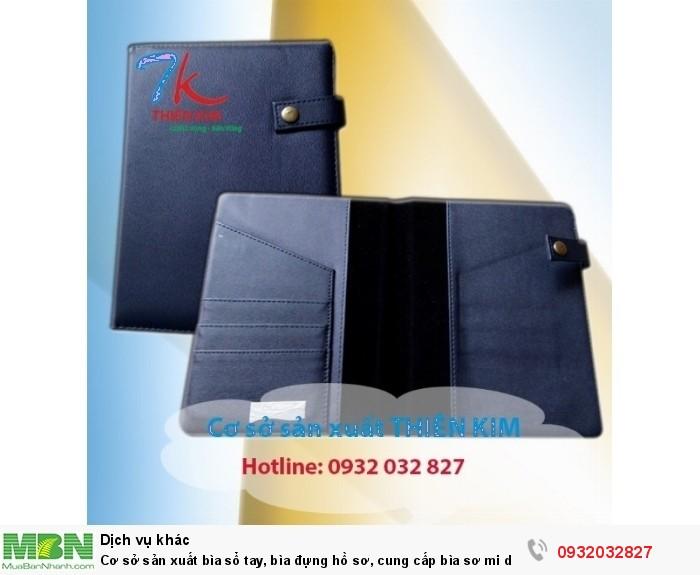 Cơ sở sản xuất bìa sổ tay, bìa đựng hồ sơ, cung cấp bìa sơ mi da, bìa còng giá rẻ,2