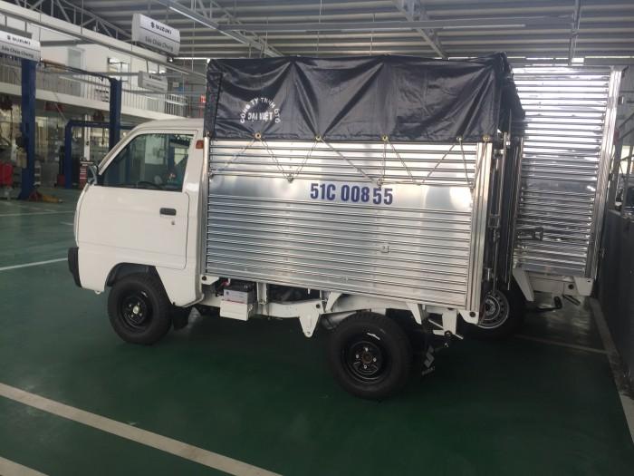 Xe Suzuki truck thùng mui có xe giao ngay, tặng 100% thuế trước bạ và nhiều quà tặng khác 2