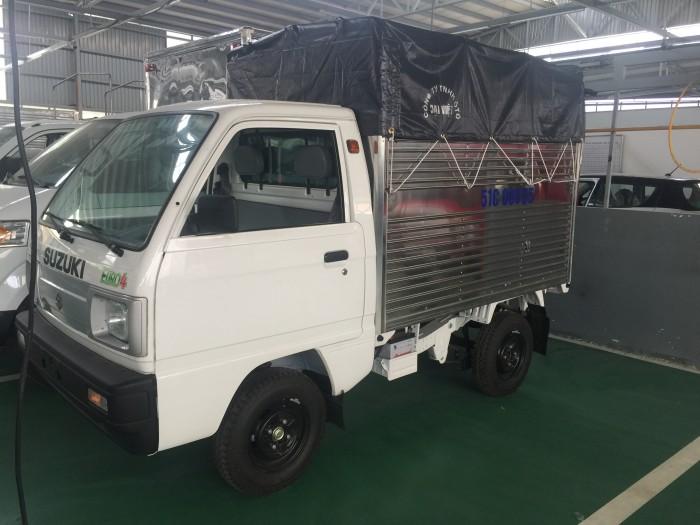 Xe Suzuki truck thùng mui có xe giao ngay, tặng 100% thuế trước bạ và nhiều quà tặng khác 3