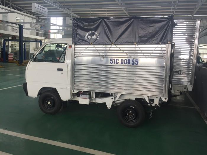 Xe Suzuki truck thùng mui có xe giao ngay, tặng 100% thuế trước bạ và nhiều quà tặng khác 4