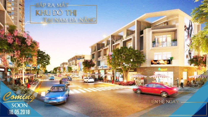 Nhận giữ chỗ dự án hoàn toàn mới,cửa ngõ du lịch kết nối Đà Nẵng-Hội An