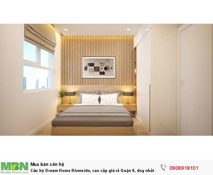 Căn hộ Dream Home Riverside, cao cấp giá rẻ Quận 8, duy nhất 20 căn trong đợt mở bán tháp Sapphire