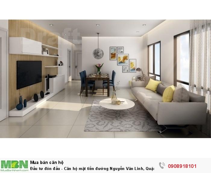 Đầu tư đón đầu - Căn hộ mặt tiền đường Nguyễn Văn Linh, Quận 8
