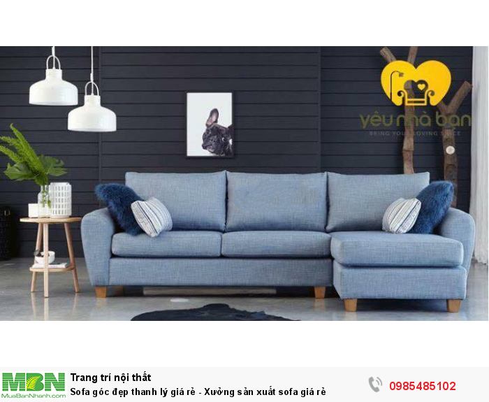 Sofa Goc đẹp Thanh Ly Gia Rẻ Xưởng Sản Xuất Sofa Gia Rẻ Mới 100