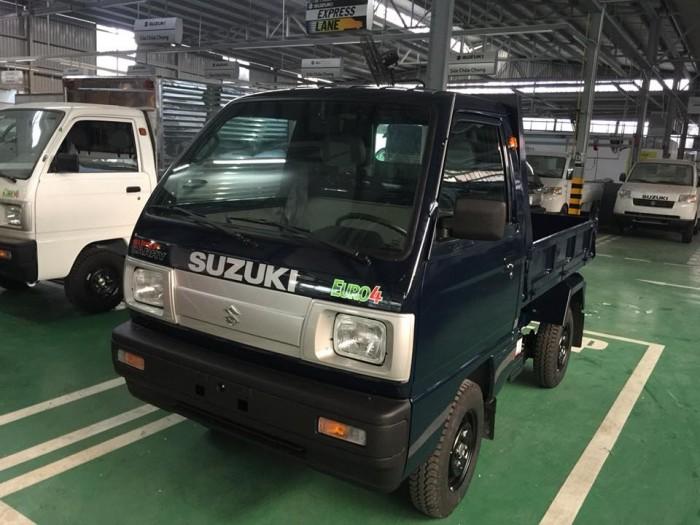Bán xe tải suzuki ben 500kg, tặng 100% thuế trước bạ và bộ quà tặng lên đến 5 triệu 5