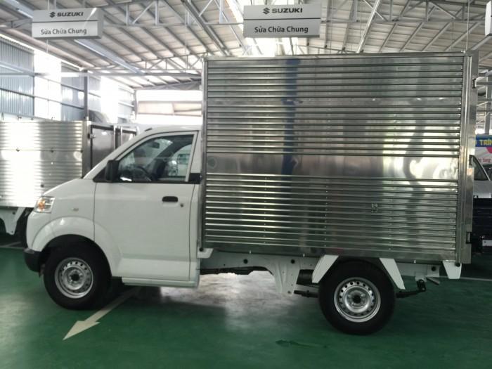Xe suzuki pro đóng thùng kín và thùng các loại 2