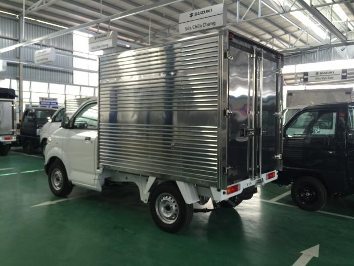 Xe suzuki pro đóng thùng kín và thùng các loại 3