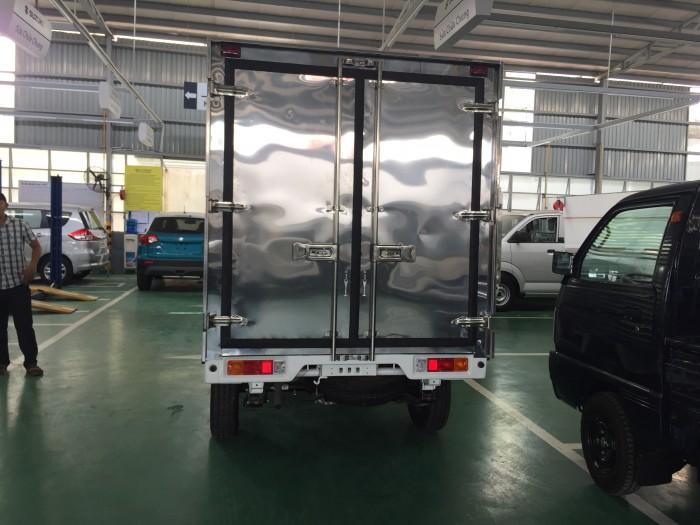 Xe suzuki pro đóng thùng kín và thùng các loại 4