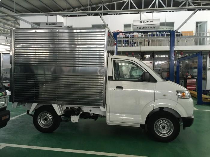 Xe suzuki pro đóng thùng kín và thùng các loại 5