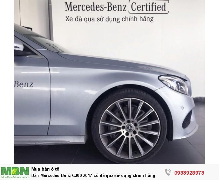 Bán Mercedes-Benz C300 2017 cũ,  25 km, chính hãng giao ngay 4