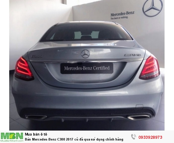 Bán Mercedes-Benz C300 2017 cũ,  25 km, chính hãng giao ngay 9