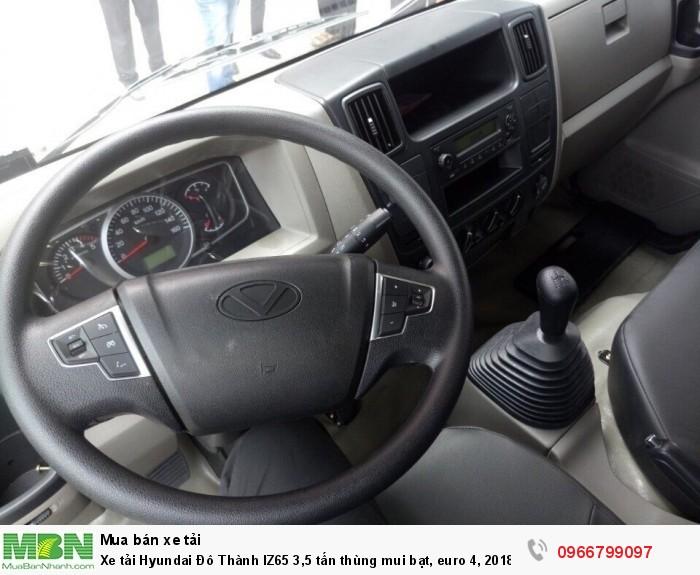 Xe tải Hyundai Đô Thành IZ65 3,5 tấn thùng mui bạt, euro 4, 2018 2
