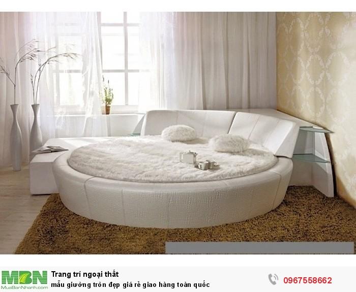 giường ngủ hình tròn giá rẻ4