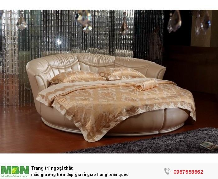 giường ngủ hình tròn đẹp6