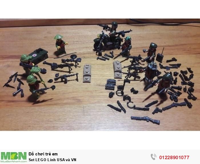 Set LEGO Lính USA và VN