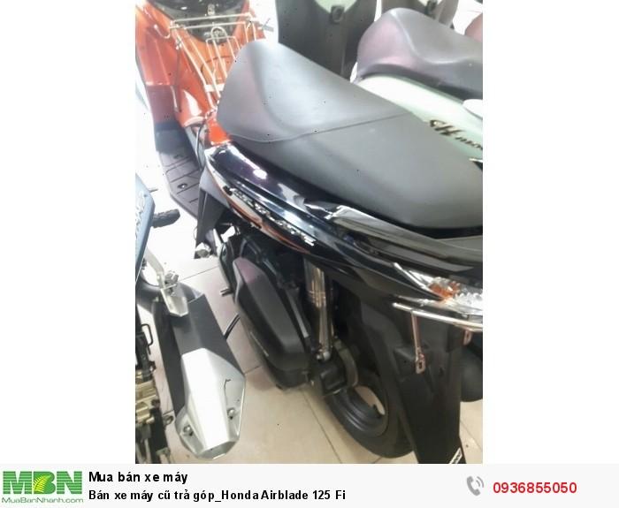 Bán xe máy cũ trả góp_Honda Airblade 125 Fi 3