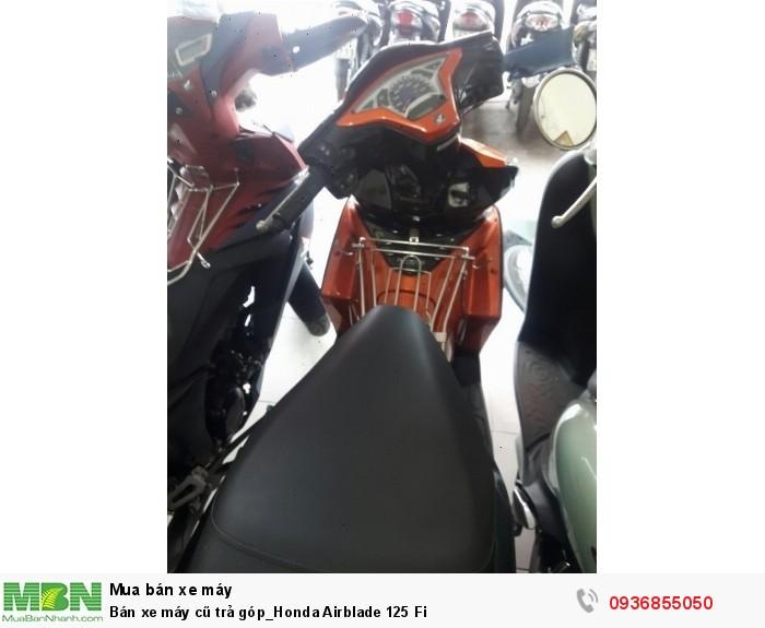 Bán xe máy cũ trả góp_Honda Airblade 125 Fi 2