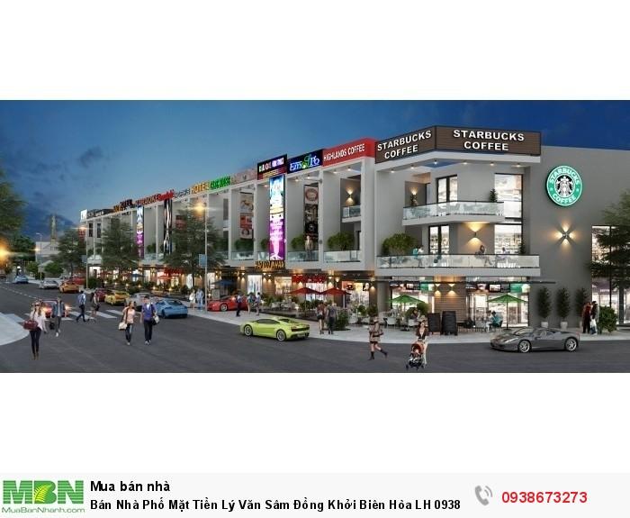 Bán Nhà Phố Mặt Tiền Lý Văn Sâm Đồng Khởi Biên Hòa