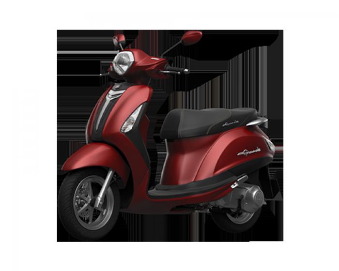 Xe Máy Yamaha Grande Deluxe - đỏ + Tặng Nón Bảo Hiểm, Móc Khóa Xe
