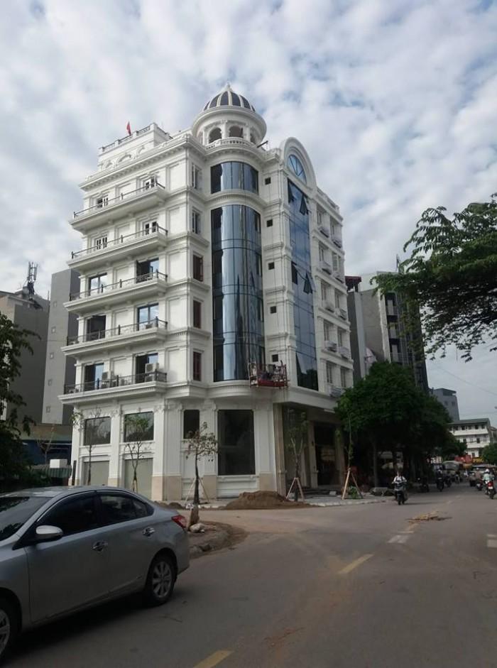 Bán nhà khu Cầu Giấy 70m, 10 tầng,1 tum, mặt tiền 6m vỉa Hè, Thang máy, bải để ô tô, Kinh doanh rất tốt.