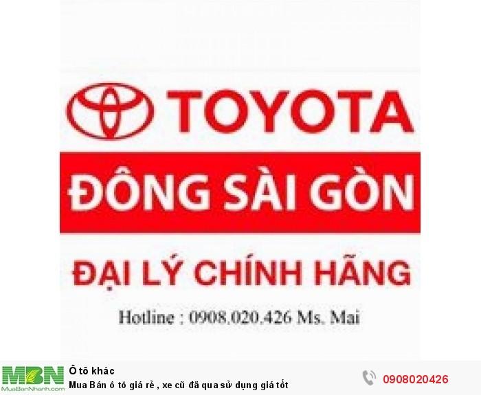 Toyota Khác sản xuất năm  Số tự động Động cơ Xăng