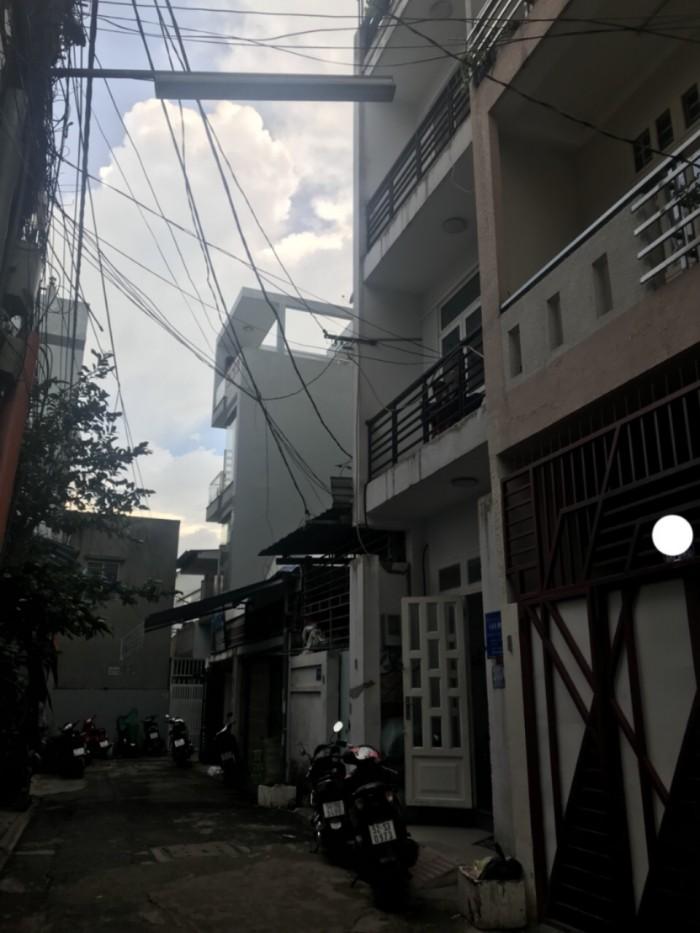 Nhà hẻm giá rẻ đường Gò Dầu , DT 4m x 14m