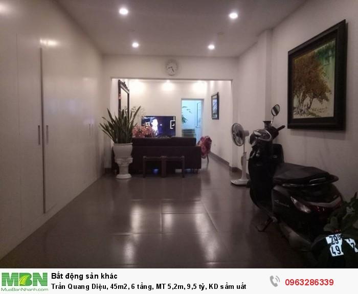Trần Quang Diệu, 45m2, 6 tầng, MT 5,2m, 9,5 tỷ, KD sầm uất