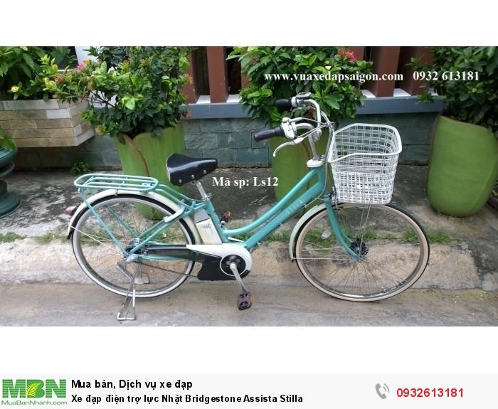 Xe đạp điện trợ lực Nhật Bridgestone Assista Stilla