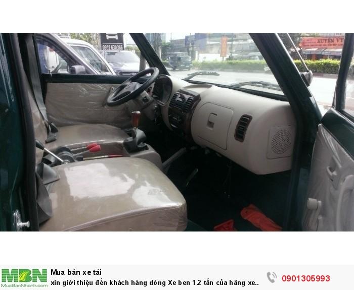 Xin giới thiệu đến khách hàng dòng Xe ben 1.2 tấn của hãng xe Chiến Thắng 2