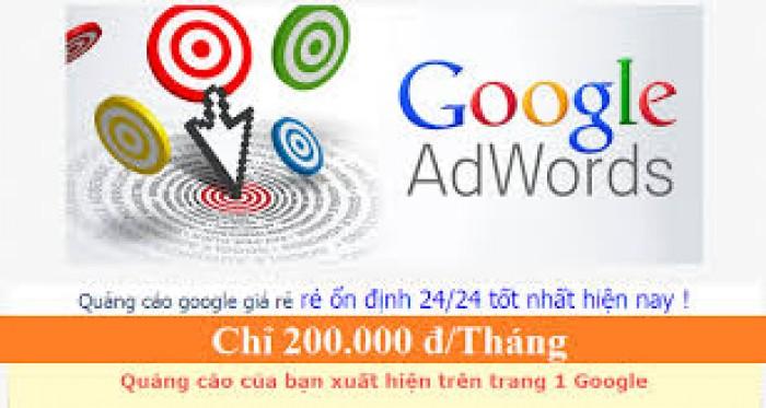 Chạy quảng cáo Google Adword đưa thông tin doanh nghiệp của bạn lên top 1 Google