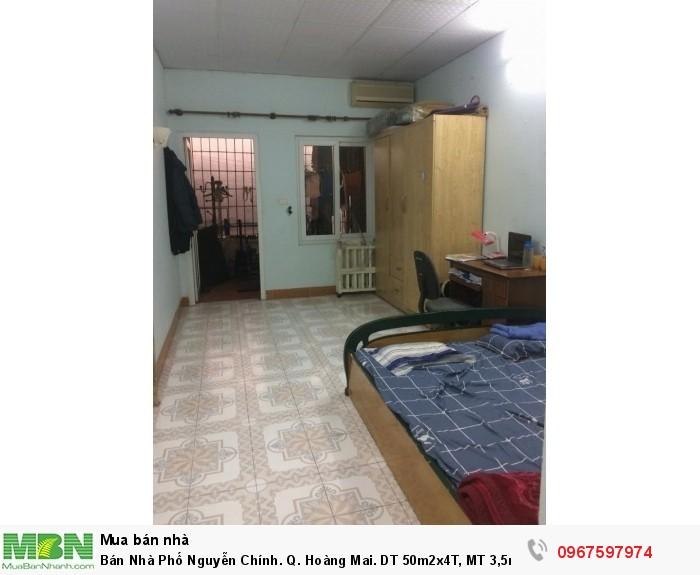 Bán Nhà Phố Nguyễn Chính. Q. Hoàng Mai. DT 50m2x4T, MT 3,5m, 4,1 Tỷ