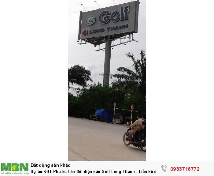 Dự án KĐT Phước Tân đối diện sân Golf Long Thành - Liền kề dự án Long Hưng Gần Cầu Cát Lái Q9