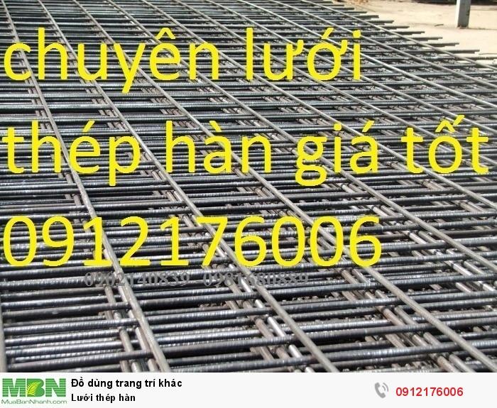 Lưới thép hàn D8 a 200x2000